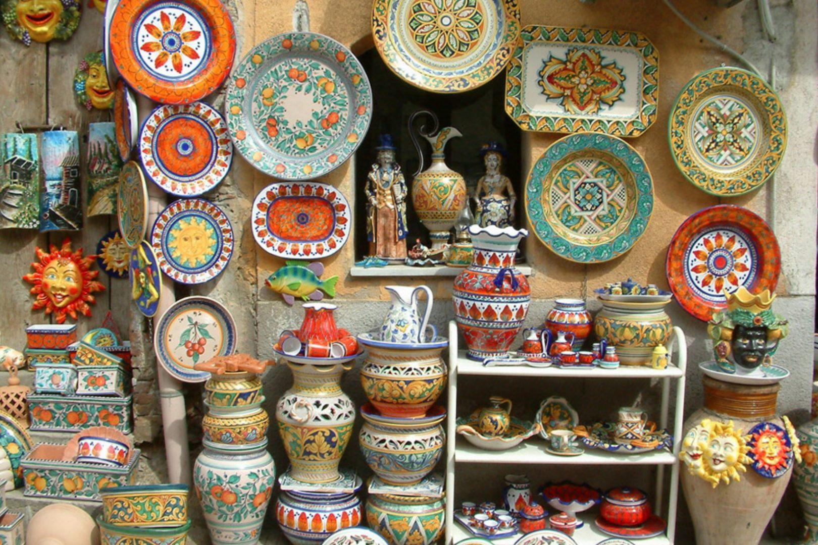 Le botteghe dell 39 arte buongiorno ceramica - Ceramiche santo stefano di camastra piastrelle ...