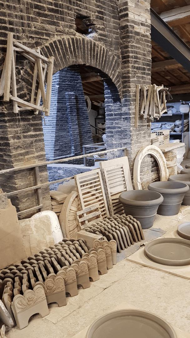 Fornace masini buongiorno ceramica for Masini terrecotte impruneta